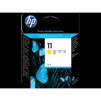 HP 11, Оригинальный струйный картридж HP, Желтый for Business Inkjet 2200/2250, 28 ml, up to 2550 pages. (C4838A)