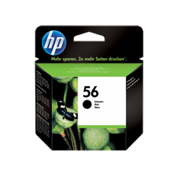 Чёрный струйный картридж HP 56 ёмкостью 19 мл (C6656AE)