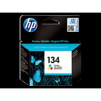 Трёхцветный струйный картридж HP 134 (C9363HE)