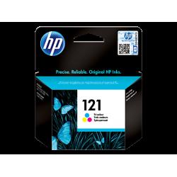 HP 121, Оригинальный струйный картридж HP, Трехцветный for Deskjet F4283/D2563/D1663, 4 ml, up to 165 pages. (CC643HE)