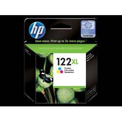 Трехцветный струйный картридж HP 122XL (CH564HE)