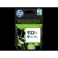 HP 933XL, Оригинальный струйный картридж HP увеличенной емкости, Голубой (CN054AE)