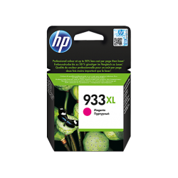 HP 933XL, Оригинальный струйный картридж HP увеличенной емкости, Пурпурный for OfficeJet 7110/6100/7510, up to 825 pages. (CN055AE)