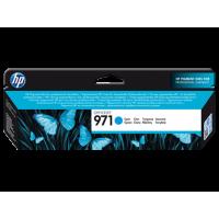 HP 971, Оригинальный струйный картридж HP, Голубой (CN622AE)
