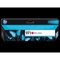 HP 971, Оригинальный струйный картридж HP, Пурпурный (CN623AE)