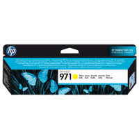 HP 971, Оригинальный струйный картридж HP, Желтый (CN624AE)