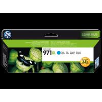 HP 971XL, Оригинальный струйный картридж HP увеличенной емкости, Голубой for OfficeJet Pro X476dw/X576dw/ X451dw, up to 6600 pages. (CN626AE)