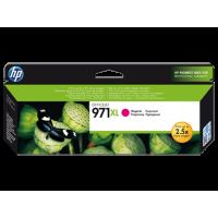 HP 971XL, Оригинальный струйный картридж HP увеличенной емкости, Пурпурный for OfficeJet Pro X476dw/X576dw/ X451dw, up to 6600 pages. (CN627AE)