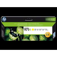 HP 971XL, Оригинальный струйный картридж HP увеличенной емкости, Желтый for OfficeJet Pro X476dw/X576dw/ X451dw, up to 6600 pages. (CN628AE)