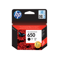 Черный картридж HP 650 (CZ101AE)