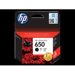 HP 650, Оригинальный картридж HP Ink Advantage, Черный for Deskjet Ink Advantage 2515, up to 360 pages.(CZ101AE)