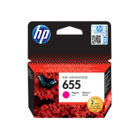 HP 655, Оригинальный картридж HP Ink Advantage, Пурпурный for Deskjet Ink Advantage 3525/4615/4625/5525/6525, up to 600 pages. (CZ111AE)