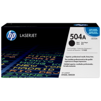 Черный картридж с тонером HP 504A LaserJet (CE250A)