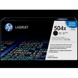 Черный картридж с тонером HP 504X LaserJet (CE250X)