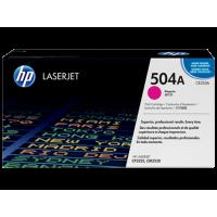 Пурпурный картридж с тонером HP 504A LaserJet (CE253A)