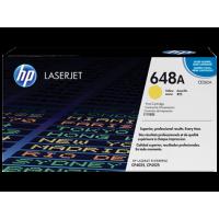 Картридж с тонером HP 648A LaserJet, желтый (CE262A)