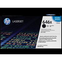 Картридж с тонером HP 646X LaserJet, черный (CE264X)