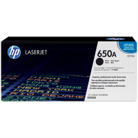 HP CE270A, Картридж с тонером HP 650A LaserJet, черный for Color LaserJet CP5525/M750, up to 13500 pages.
