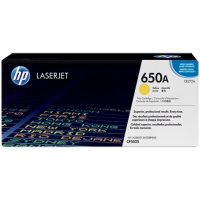 HP CE272A, Картридж с тонером HP 650A LaserJet, желтый for Color LaserJet CP5525/M750, up to 15000 pages.