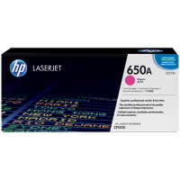 Картридж с тонером HP 650A LaserJet, пурпурный (CE273A)