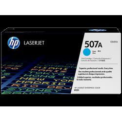HP CE401A, Картридж с тонером HP 507A LaserJet, голубой for Color LaserJet M551//MFP M570/MFP M575, up to 6000 pages.