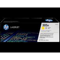 HP 305A, Оригинальный лазерный картридж HP LaserJet, Желтый for LaserJet Pro 300 Color М351/MFP M375/400 Color M451/MFP M475, up to 2600 pages. (CE412A)