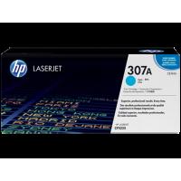 Картридж с тонером HP 307A LaserJet, голубой (CE741A)