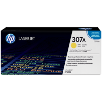 Картридж с тонером HP 307A LaserJet, желтый (CE742A)
