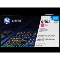 Картридж с тонером HP 646A LaserJet, пурпурный (CF033A)
