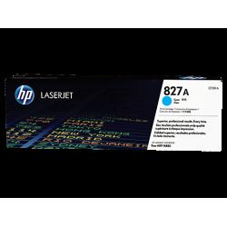HP 827A, Оригинальный лазерный картридж HP LaserJet, Голубой for Color LaserJet M880z/M880z+, up to 32000 pages. (CF301A)