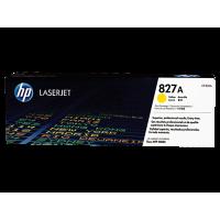 HP 827A, Оригинальный лазерный картридж HP LaserJet, Желтый for Color LaserJet M880z/M880z+, up to 32000 pages. (CF302A)