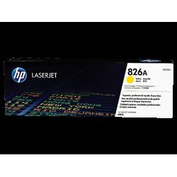 HP 826A, Оригинальный лазерный картридж HP LaserJet, Желтый for Color LaserJet M855dn/x+/xh, up to 31500 pages. (CF312A)