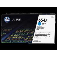 HP 654A, Оригинальный лазерный картридж HP LaserJet, Голубой (CF331A)
