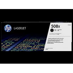 HP 508X, Оригинальный лазерный картридж HP LaserJet увеличенной емкости, Черный for Color LaserJet Enterprise M552/M553/M577, up to 12500 pages (CF360X)