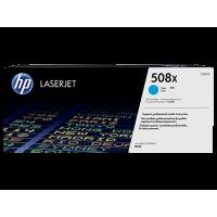 HP 508X, Оригинальный лазерный картридж HP LaserJet увеличенной емкости, Голубой for Color LaserJet Enterprise M552/M553/M577, up to 9500 pages (CF361X)