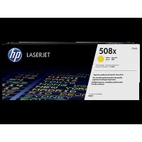 HP 508X, Оригинальный лазерный картридж HP LaserJet увеличенной емкости, Желтый for Color LaserJet Enterprise M552/M553/M577, up to 9500 pages (CF362X)