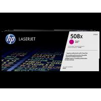 HP 508X, Оригинальный лазерный картридж HP LaserJet увеличенной емкости, Пурпурный for Color LaserJet Enterprise M552/M553/M577, up to 12500 pages (CF363X)