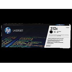 HP 312X, Оригинальный лазерный картридж HP LaserJet увеличенной емкости, Черный (CF380X)