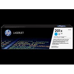 HP 201X, Оригинальный лазерный картридж HP LaserJet увеличенной емкости, Голубой for Color LaserJet Pro M252/MFP M277, up to 2300 pages (CF401X)