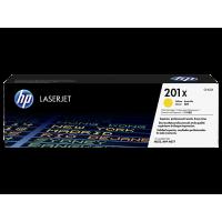 HP 201X, Оригинальный лазерный картридж HP LaserJet увеличенной емкости, Желтый for Color LaserJet Pro M252/MFP M277, up to 2300 pages (CF402X)
