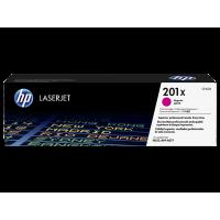 HP 201X, Оригинальный лазерный картридж HP LaserJet увеличенной емкости, Пурпурный for Color LaserJet Pro M252/MFP M277, up to 2300 pages (CF403X)