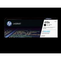 HP 410X, Оригинальный лазерный картридж HP LaserJet увеличенной емкости, Черный for Color LaserJet Pro M452/M477, up to 6500 pages (CF410X)