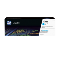 HP 410X, Оригинальный лазерный картридж HP LaserJet увеличенной емкости, Голубой for Color LaserJet Pro M452/M477, up to 5000 pages (CF411X)