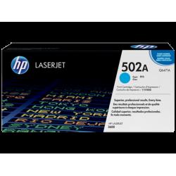 Картридж с тонером HP 502A LaserJet, голубой (Q6471A)