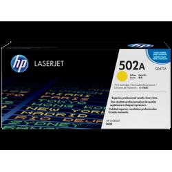 Картридж с тонером HP 502A LaserJet, желтый (Q6472A)