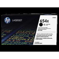 HP 654X, Оригинальный лазерный картридж HP LaserJet увеличенной емкости, Черный (CF330X)