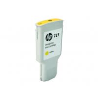 HP 727, Струйный картридж DesignJet, 300 мл, Желтый (F9J78A)