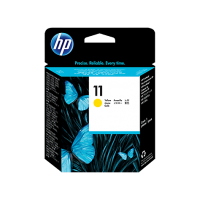HP 11, Печатающая головка HP, Желтая for BI 2200/2250, DesignJet 500/800, up to 24000 pages. (C4813A)