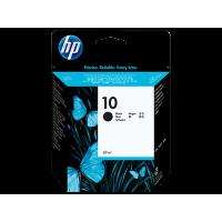 HP 10, Оригинальный струйный картридж HP, Черный for DesignJet 110/500/800 and Business Inkjet 1000/1200/2200/2230/2250/2280/2600/2800/3000, 69 ml, up to 750 pages. (C4844A)