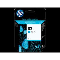 HP 82, Струйный картридж DesignJet, 69 мл, Голубой (C4911A)